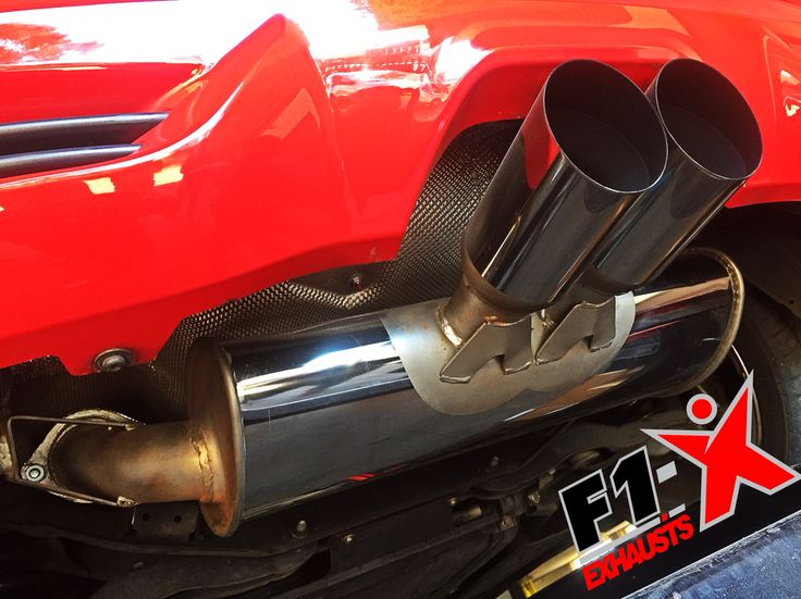 F1- X performance exhaust muffler silencer. Ford Focus ST