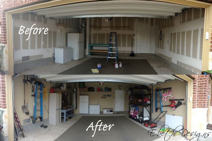 17 best images about garage on pinterest painted garage for Cheapest way to build a garage with an apartment