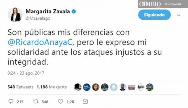 Peces gordos del PAN salen en defensa de Anaya y se olvidan de Moreno Valle - Diario Cambio