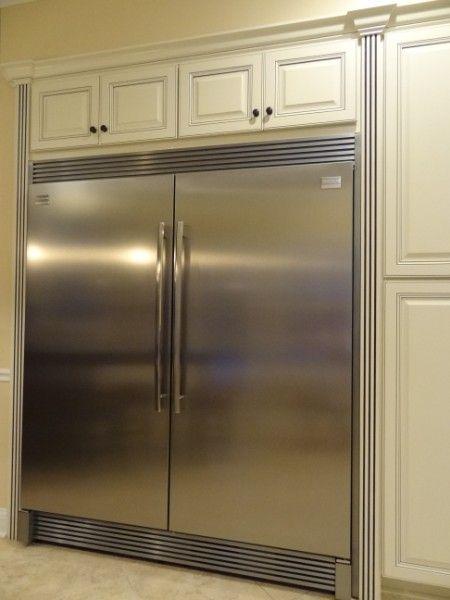 """Frigidaire Professional 19 Cu. Ft. All Refrigerator 32"""" W x 26-1/2"""" D x 71-3/8"""" H (MODELO:FPRH19D7LF) Frigidaire Professional 19 Cu. Ft. All Freezer 32"""" W x 26-1/2"""" D x 71-3/8"""" H (MODELO:FPUH19D7LF)"""