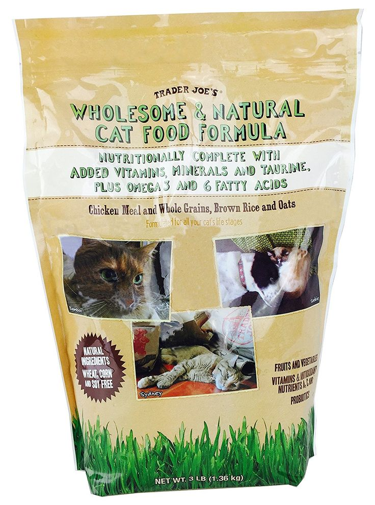 Trader Joe's Wholesome and Natural Cat Food Formula ^^ Don't get left behind, see this great cat product : Best Cat Food