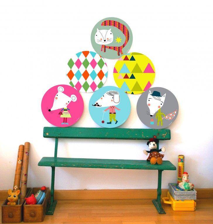 99 best cuadros infantiles y l minas para beb s y ni os - Cuadros decorativos para ninos ...