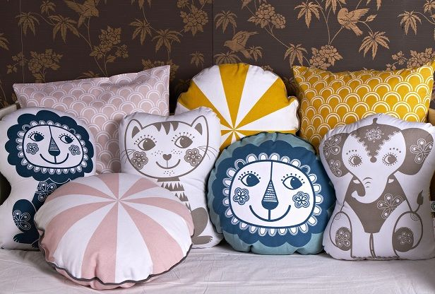 Say Hi to all the SoulMate friends by roommate. www.roommate.dk #roommatedk #cushions