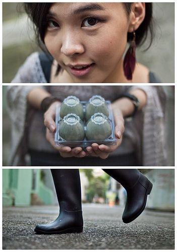 street photography triptychs of strangers when we meet