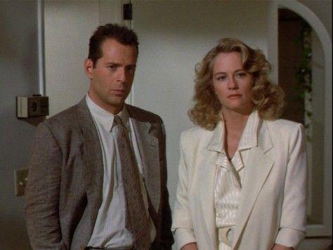 Bruce Willis Cybill Shephard in Moonlighting