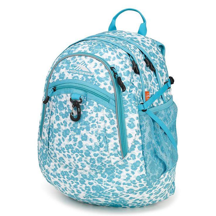 High Sierra Fatboy Backpack, Blue