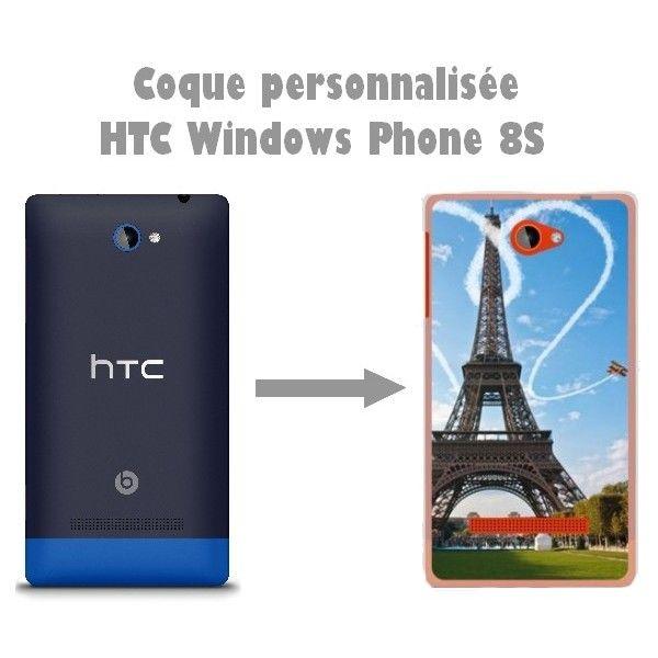 Coque personnalisée HTC Windows Phone 8S - Habille ton mobile