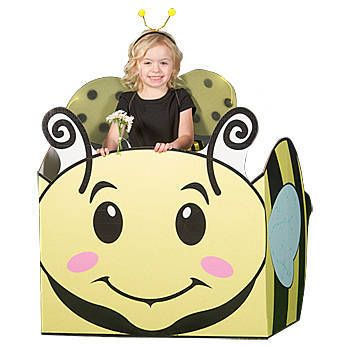 Our Buzz Bee Sit In Prop Is A Three Sided Yellow And Black Bumblebee