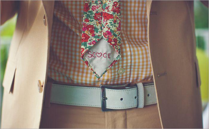 cravate liberty mariage