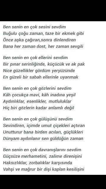 Sevi şiiri (1) Ümit Yaşar Oğuzcan
