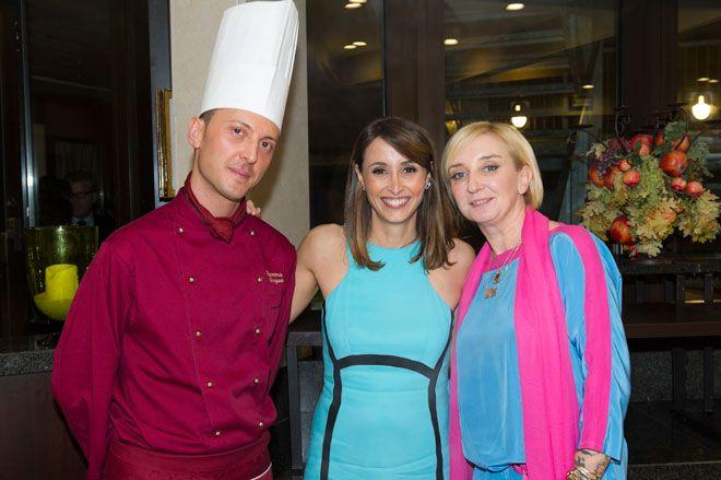 """Cena di beneficenza """"Il cibo che fa bene"""" a favore di SOS Villaggi dei Bambini Italia, presso il Best Western Hotel Galles, Milano."""