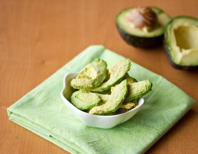 Avocado chips--made in the microwave.  Delicious or gross?  Guess I will have to try to find out.