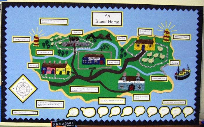 Katy Morag Map Work Y2