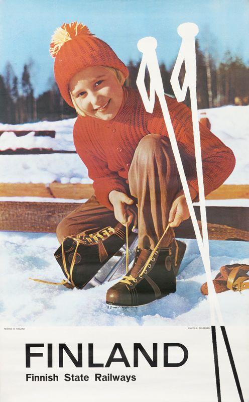 Finland - Finnish State Railways by Artist Unknown | Shop original vintage #posters online: www.internationalposter.com