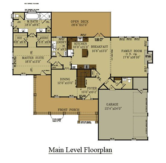 66 best floor plans images on pinterest floor plans for Lake house plans with garage