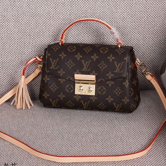 252e618d1171 Louis Vuitton Monogram Canvas Croisette Bag M41581