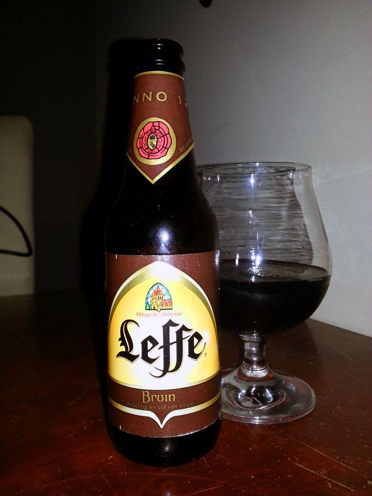 Beer, Leffe Bruin 6,5%vol 30cl