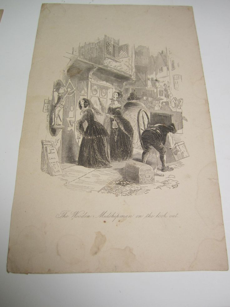 Pin by elle rome on antique prints charles dickens ...