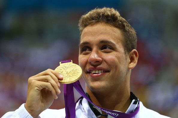 Chad Le Clos won Michael Phelps by o,o5s in the 200m Burrerfly! Proudly South African!