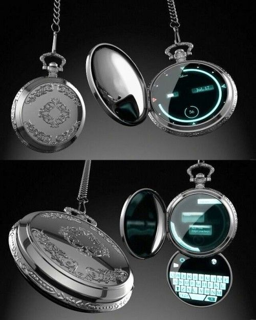 Old pocket watches are experiencing a real comeback