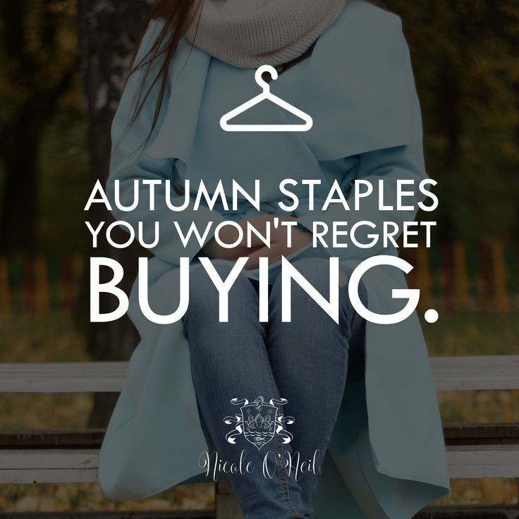 Don't suffer from purchase guilt this Autumn/Fall/Winter. I've got 10 AW18 Wardrobe Staples You Won't Regret Buying - and that you'll wear again and again throughout the season. A perfect capsule wardrobe guide for women featuring must have clothing items for the cooler months ahead.