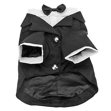 Senhores Paletó com Little Bow Tie para Cães (XS-XXL) – BRL R$ 36,27