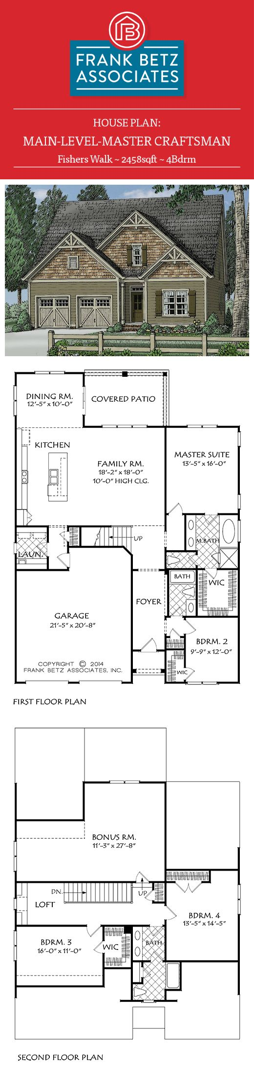 1000 images about craftsman style house plans on for House plans master upstairs