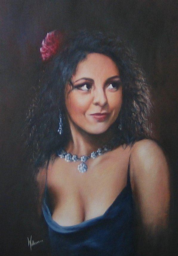 Portrait of Carmen Monarcha