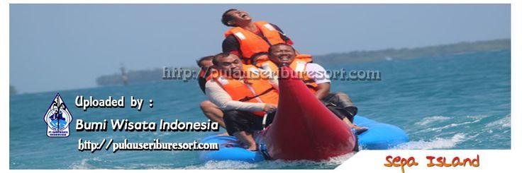 Banana Boat at Sepa Island | Pulau Seribu
