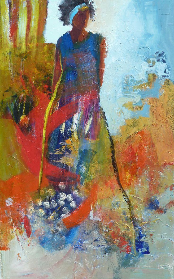 Colorful Acrylic Paintings Peopke