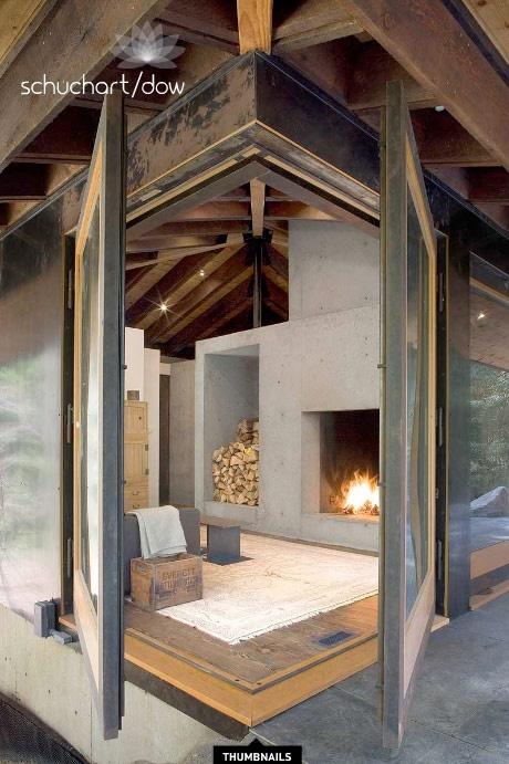 modern house cabin design