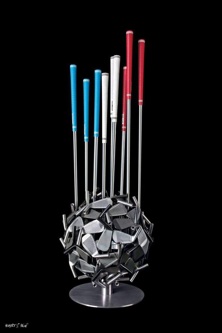 Sculptures golf | Hubert Prive