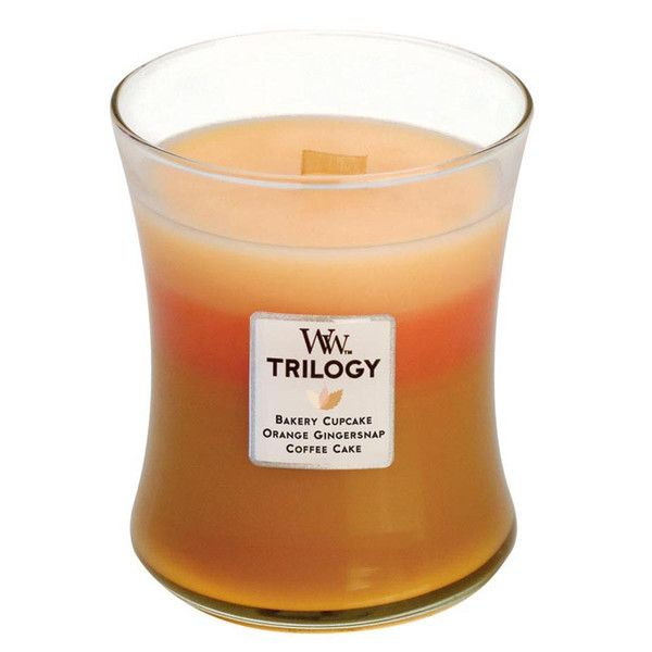WoodWick Trilogy Fresh Baked Scented Candle – Just Scented Candles