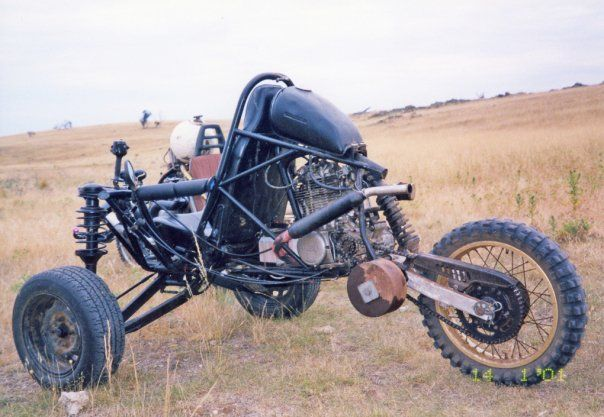 home made DIY offroad trike   Motorcycle Gear   Pinterest   Offroad