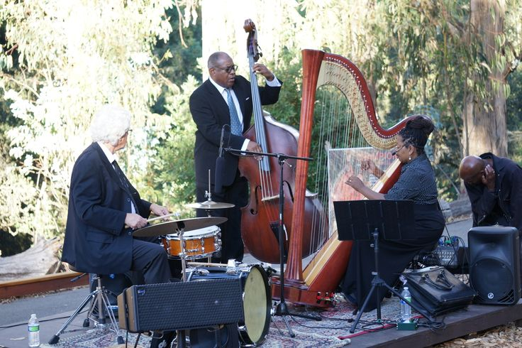 Check out these photos from Fridays in the Grove with The Destiny Muhammad Jazz Trio! Photo by Jay Yamada. Join us next Friday for our Fridays in the Grove.: Photo