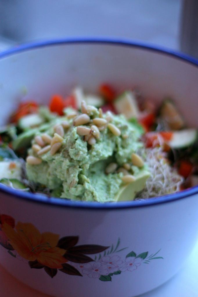 Avocado Salade « De Groene Meisjes