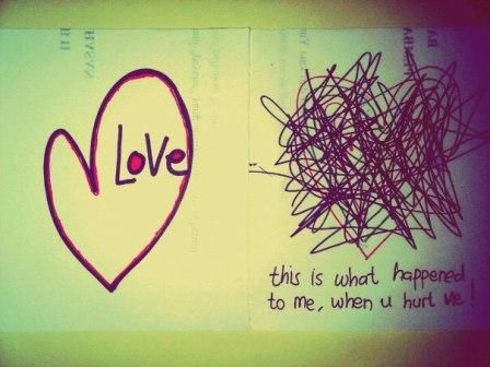 this is what happened to me, when you heart me :'(