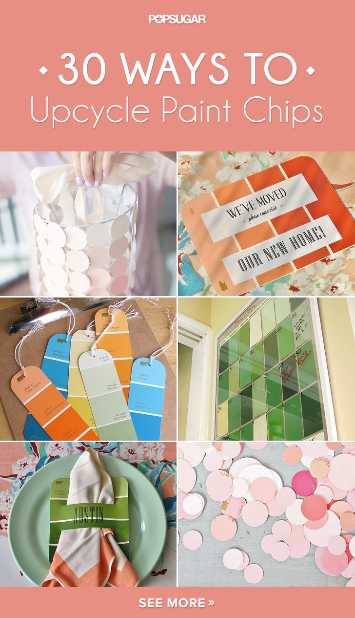 32 Awesome Ways to Upcycle Paint Chips
