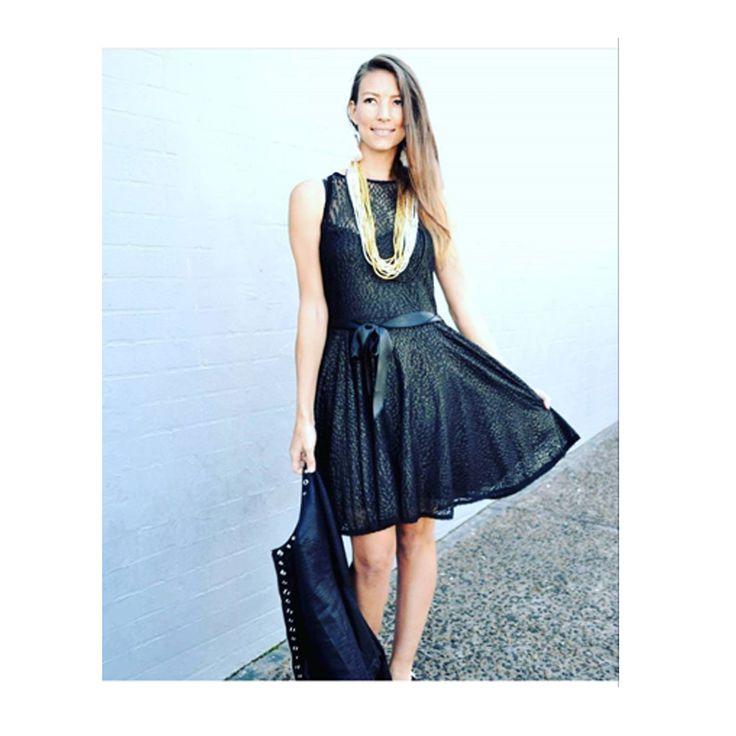 Gorgeous #Nicci clothing at #CapeTown brunch #lurex #gold #model