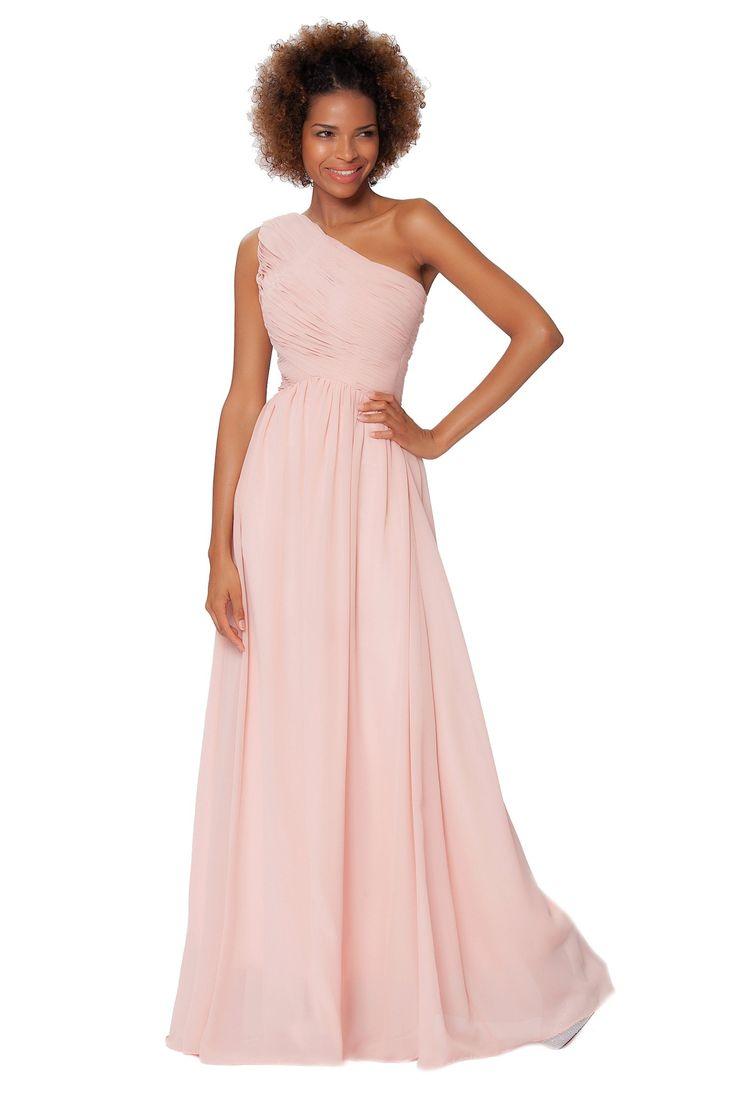 SEXYHER Gorgeous Encuadre de cuerpo entero Uno damas de honor del hombro vestido de noche formal - EDJ1572: Amazon.es: Ropa y accesorios