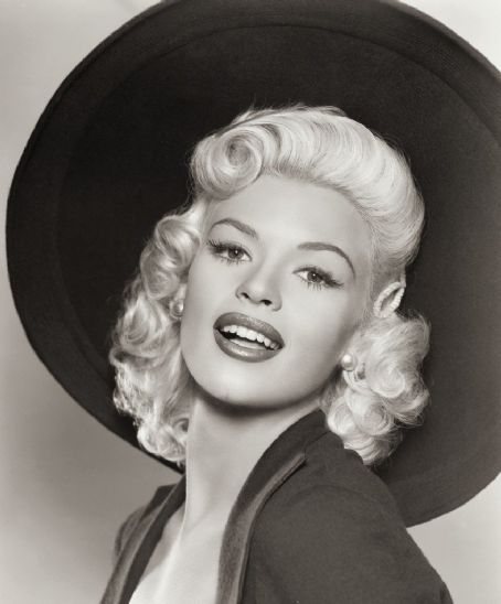 Jayne Mansfield...I love her hair and the hat!