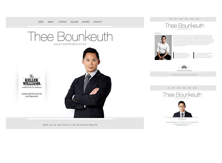 Thee Bounkeuth website design by Macroblu.