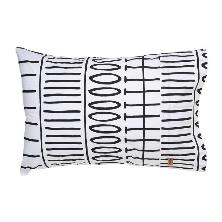 Kip & Co | Pillowcase Set of Two | Monochrome | PRE ORDER
