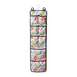 "NOTUDDEN door-mounted storage, multicolor, flowers and leaves Width: 10 ½ "" Height: 41 ¼ "" Width: 26.5 cm Height: 105 cm $9.99"