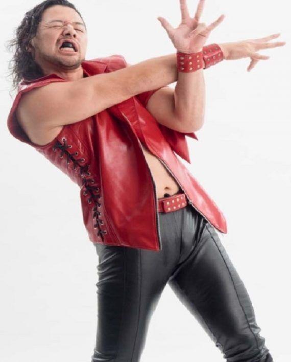 WWE Shinsuke Nakamura Vest (1)