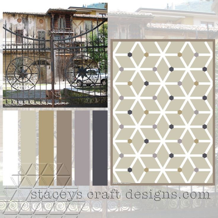 Colour Palette Garda Mansion by Stacey's Craft Designs
