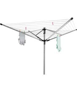 Addis 60m 4-Arm Multi-Height Outdoor Rotary Airer.