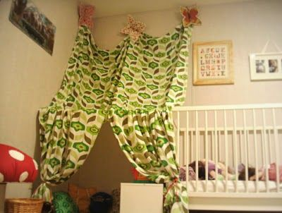 another great tent idea and very easy. no sewing.