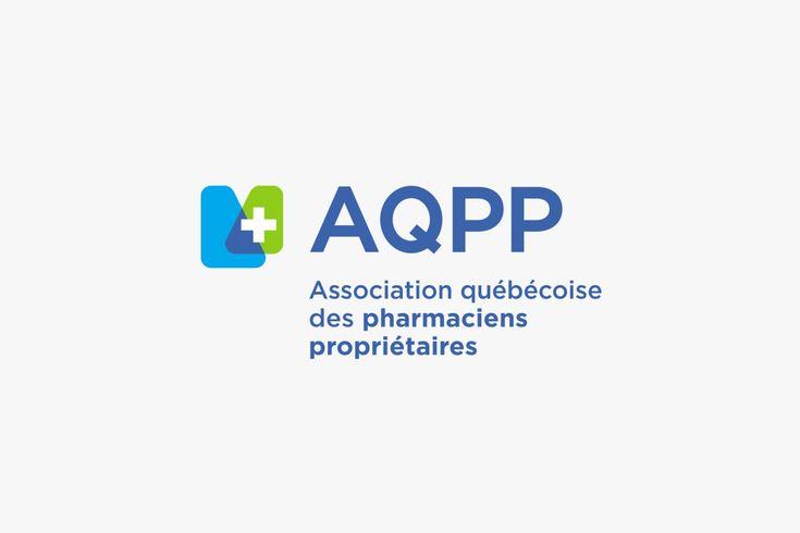 Association québécoise des pharmaciens propriétaires (AQPP) | Branding TM design | Design Logo