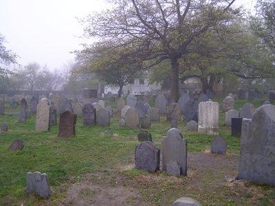 Oldest cemetery in Salem, Massachusetts.  <3   (i explored here)